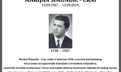 Ubojstvo Marijana Šimundića…