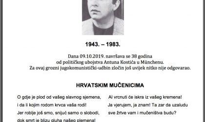Ubojstvo Antuna Kostića…