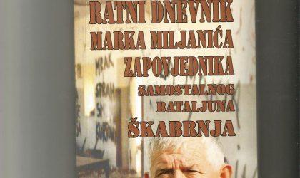 Mladen Pavković u razgovoru s Markom Miljanićem, ratnim zapovjednikom Škabrnje…